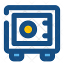 Safety Deposit Box Deposit Box Locker Icon