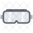 Safety Goggles Building Icon