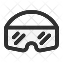 Safety Glasses Scientist Experiment Icon