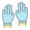 Safety Gloves Hygiene Icon