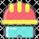 Ghelmet Helmet Afety Cap Icon