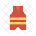 Safety Jacket Cloth Icon