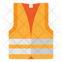 Reflective Safety Vest Icon