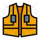 Construction Vest Safety Vest Protective Clothes Icon