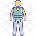Float Jacket Life Icon