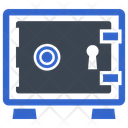 Deposit Safe Vaulted Door Icon