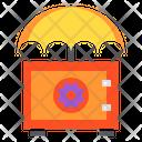 Umbrella Safety Box Icon