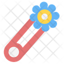 Safety Pin Clothing Pin Baby Pin Icon