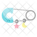 Safety Pin Icon