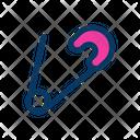 Pin Safety Binding Icon