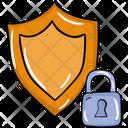 Safety Shield Protective Shield Shield Locked Icon