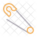 Safetypin Needle Stationary Icon