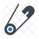 Needle Safetypin Clip Icon