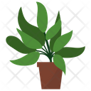 Sage Potted Plant Icon
