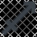 Sagittarius Archer Centaur Icon