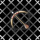 Sagittarius Zodiac Sign Archer Sagittarius Icon