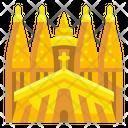 Sagrada Familia Spain Barcelona Icon