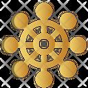Sail Navigation Whell Icon