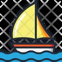Sail Boat Boat Holidays Icon