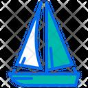 Sail Boat Sailboat Boat Icon