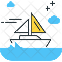 Sail Boat Boat Small Boat Icon