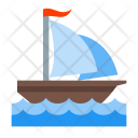 Sail ship Icon