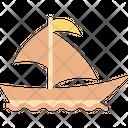 Sailboat Boat Boating Icon