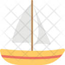 Sailboat Yacht Ship Icon