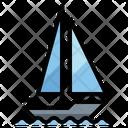 Sailboat Boat Cruise Icon
