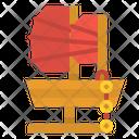 Sailboat Sail Chinese Icon