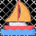 Sailboat Sail Sailing Icon