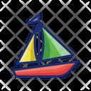 Sailboat Boat Boatrace Icon