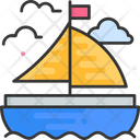 Sailboat Boat Ship Icon