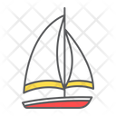 Sailboat Ship Travel Icon