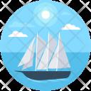 Sailboat Sailing Boat Icon