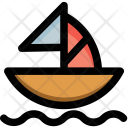 Boat Kid Toy Icon