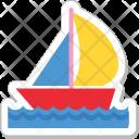 Yacht Boat Vessel Icon