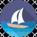 Sailboat Ship Yacht Icon