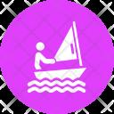 Sailing Paralympic Paralympics Icon