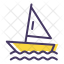 Sailing Water Olympics Icon