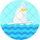 Sailing Yacht Water Icon