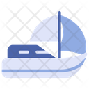 Sailing Sailboat Watercraft Icon
