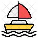 Sailing Boating Watercraft Icon