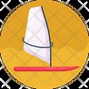 Sailing Boat Boat Sailing Icon