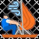 Sailing Sailing Boat Sea Icon