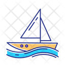 Sailing Watersport Outdoor Icon