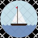 Sailing Boat Ship Icon