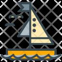 Sailing Sail Boat Icon