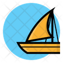 Sailing Boat Sailboat Icon