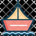 Sailing Boat Boat Canoe Icon